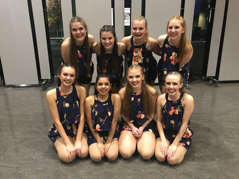 The+RC%27s+Jazz+routine+earned+2nd+at+the+Clackamas+Competition.+