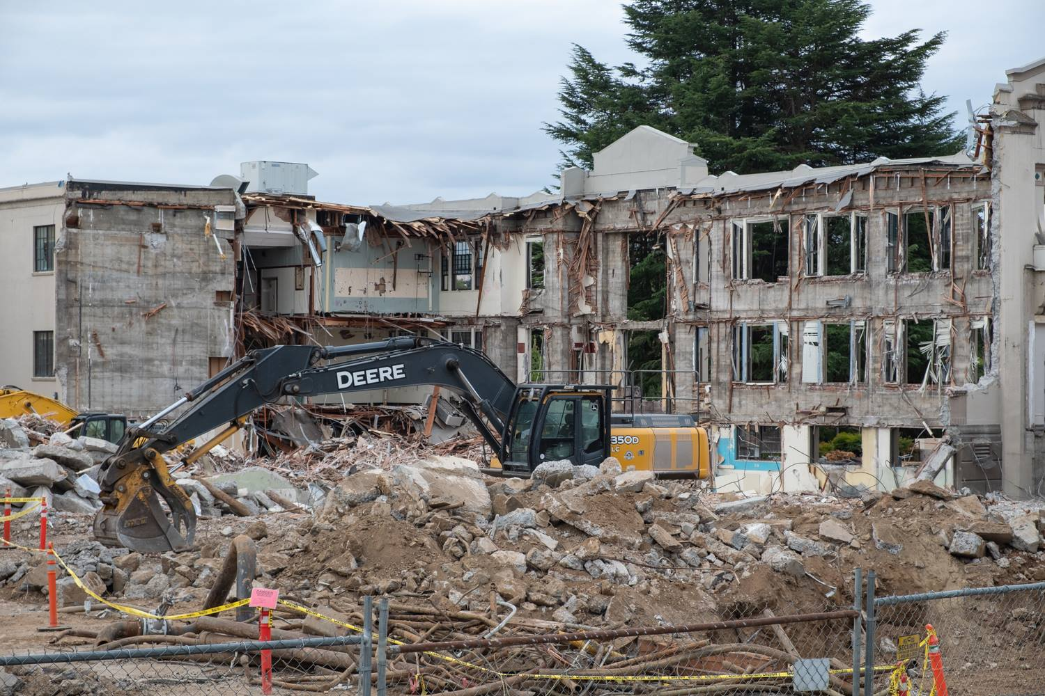 Demolish of MHS