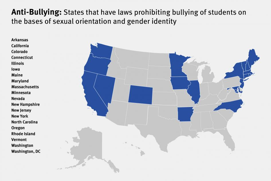 Bullying laws.