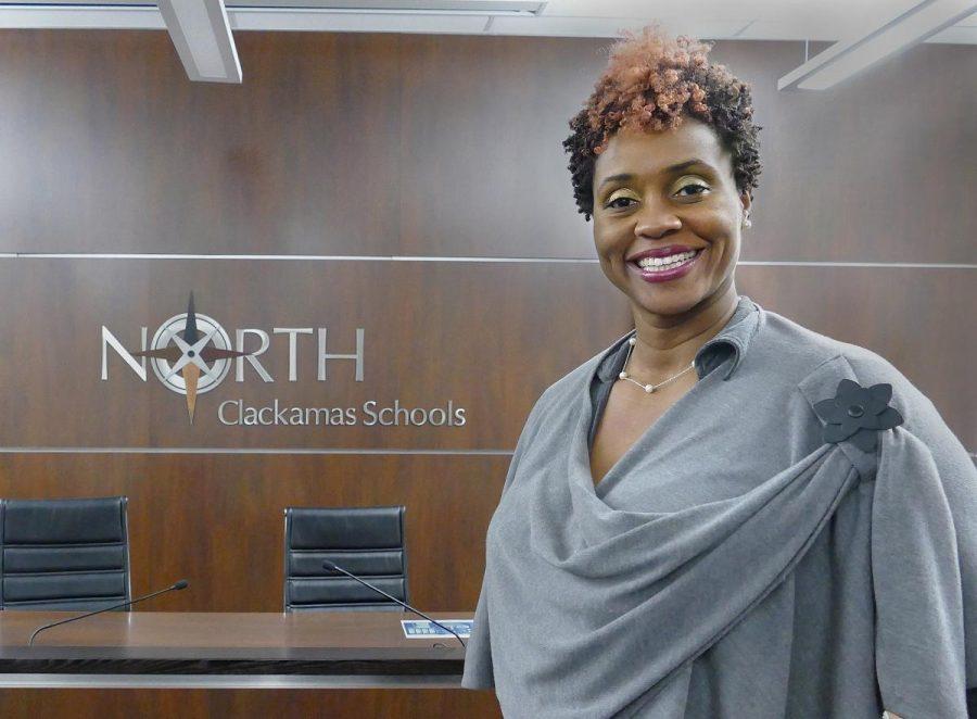 NCSD School Board Chair Libra Forde