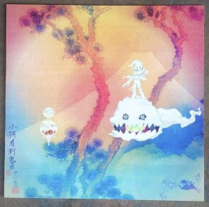 Cover of Wests collaborative LP, Kids See Ghosts